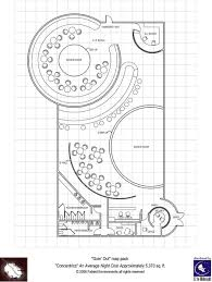 nightclub floor plan modern floorplans nightclub fabled environments modern