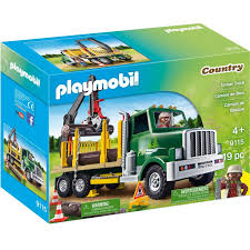 playmobil 9115 timber truck playscapes