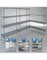 montante scaffale scaffale per cella frigorifera o magazzino cm 190x60x200h
