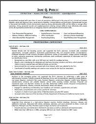 Secretary Resume Sample Legal Assistant Resume Chic Design Sample Paralegal Resume