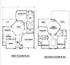 2 story floor plans with garage home design two story house plans with garage pictures about