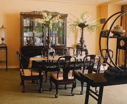 Photos Of Dining Rooms by 11pc Mahogany Dining Room Set Chippendale China Buffet Ebay