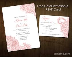 Wedding Invitation Card Free Download Cool The Meaning Of Rsvp In Invitation Cards 14 About Remodel