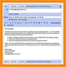 Format Of Mail For Sending Resume 11 Format Of Sending Resume Appication Letter