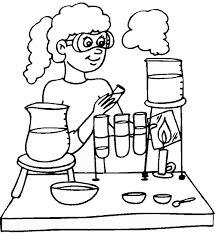 coloring page for science murderthestout