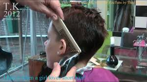 theo knoop new hair today oh that feels good short haircut by theo knoop 2012 youtube