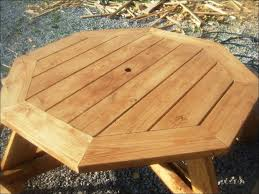 Picnic Table Plans Free Octagon by Exteriors Picnic Table And Chairs Suitcase Picnic Table Picnic