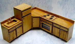 dollhouse furniture kitchen oak dollhouse kitchen furniture