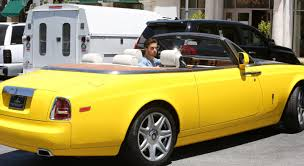 yellow rolls royce scott disick u0027s car is totes sick but not necessarily in a good