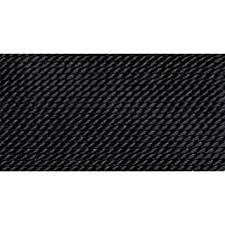 pattern black silk pack amazon com 100 silk beading thread black size 3 10 pack bdc