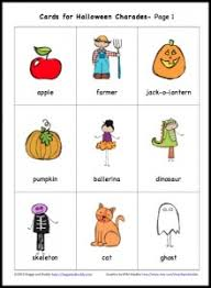 free printable charades for buggy and buddy