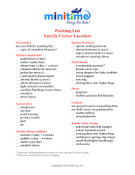 caribbean vacation packing list pacq co