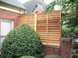 Screen Ideas For Backyard Privacy Garden Privacy Panels Lattice For Supports Vines In Backyard