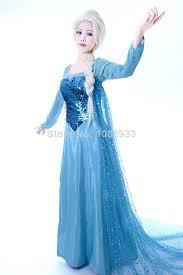 Princess Anna Halloween Costume Frozen Costume Snow Queen Elsa Costume Princess Elsa Cosplay