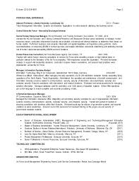 resume resource manager human resources manager resume samples