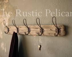 rustic coat rack etsy