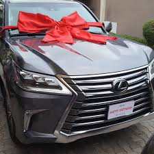 lexus suv 2017 chris ubosi ceo of the beat 99 9 fm wife gifted him 2017 lexus suv