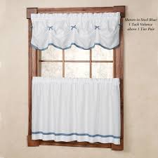 Curtains Kitchen Window by Kitchen Curtains U0026 Window Treatments Touch Of Class