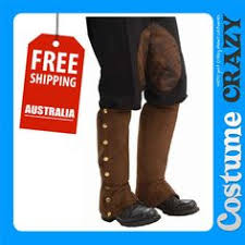 Mens Steampunk Halloween Costumes Steampunk Maid Dress Steampunk Boot Shoe Covers Thigh
