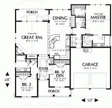 Housedesigners Com Hollis 2432 3 Bedrooms And 2 Baths The House Designers Inside