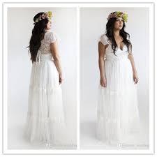empire waist plus size wedding dress discount empire waist plus size wedding dresses 2015 a line v neck