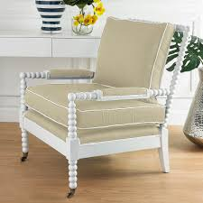Wooden Accent Chair Wooden Spool Accent Chair Shades Of Light