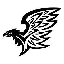 tattoo of tribal eagle fierceness freedom tattoo custom tattoo