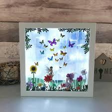 Night Light Kids Room by Butterfly Fairy Night Light Kids Room Lighting By Love4lemons