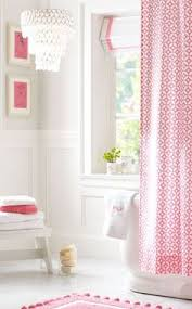 like the colors pale pink grey and white maybe a printed shower