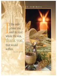 a simple thanksgiving prayer