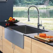 vigo kitchen faucet vigo industries vigo chrome pull out spray kitchen faucet