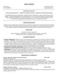 Ba Graduate Resume Sample by Senior Business Analyst Resume Objective Business Analyst Resume
