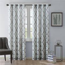 Retro Window Curtains Amazon Com Ankara Window Curtain Aqua 84