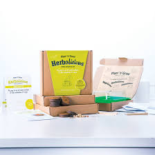 Kitchen Herb Garden Kit by Herb Growing Kit By Plant And Grow Notonthehighstreet Com