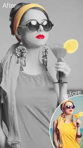 dash of color black u0026 white colorful photo editor with