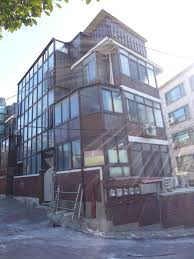 facade multiplex housing 다세대주택 u2013 song of the wind