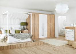 Matte White Bedroom Minimalist Furniture For Bedroom With Matte Black Wooden Low F