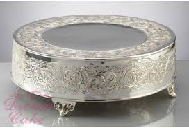 cake plateau 16 silver cake stand wedding cake plateau collection