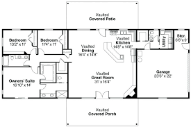 floor plans for 3 bedroom ranch homes 4 bedroom rectangular house plans rectangular house plans 3