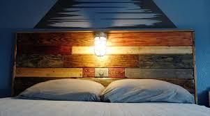diy headboard with lights headboard light fixtures pertaining to diy pallet with fixture 101
