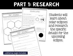 eclipse project based learning activity for 3rd 4th and 5th stem