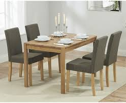 Oak Dining Table And Fabric Chairs Inspiring Oak Dining Table And Fabric Chairs 11 In Dining Room