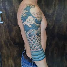 80 water tattoos for masculine liquid designs half