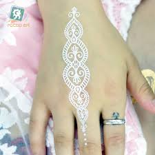 online shop black white henna body paints temporary tattoo designs