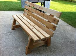 How To Build Patio Bench Seating Simple Garden Bench Seat Made By Bill