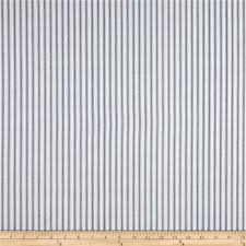 Home Decorating Fabric Premier Prints Classic Ticking Stripe Premier Navy Discount