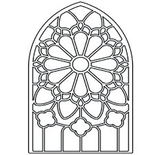 coloring pages stained glass coloring pages free stained glass