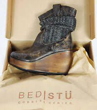 Bed Stu Bruges Be U0026d Platforms U0026 Wedges Boots For Women Ebay