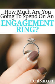 how much should you spend on engagement ring how much should you spend on an engagement ring