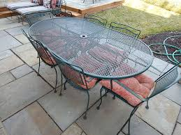 Glides For Patio Furniture by Wrought Iron Patio Set Outdoor Furniture Chair Material Glides